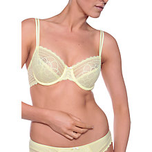Buy Chantelle Merci Underwired Bra, Daffodil Online at johnlewis.com