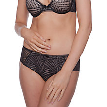 Buy Chantelle Illusion Shorty Briefs, Black Online at johnlewis.com