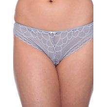 Buy Chantelle Merci Tanga Briefs, Slate Grey Online at johnlewis.com
