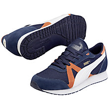 Buy Puma TF Racer Mesh Trainer, Navy Online at johnlewis.com