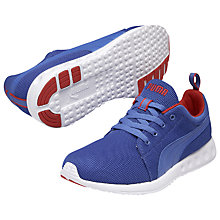Buy Puma Carson Runner Shoes, White/Blue Online at johnlewis.com