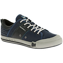 Buy Merrell Rant Canvas and Leather Trainers, Tahoe Online at johnlewis.com