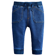 Buy Baby Joule Hugo Jersey Jeans, Blue Online at johnlewis.com
