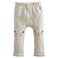 Buy Baby Joule Pattie Cat Jogging Bottoms, Cream Online at johnlewis.com