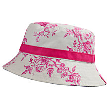 Buy Baby Joule Baby Sunseeker Flower Sun Hat, Cream Online at johnlewis.com