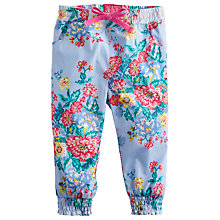 Buy Baby Joule Lizzie Flower Trousers, Blue Online at johnlewis.com