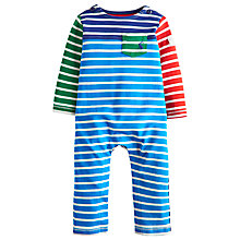 Buy Baby Joule Jolly Stripe Romper, Blue/Green Online at johnlewis.com