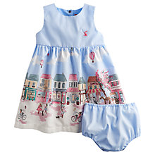 Buy Baby Joules Constance Scene Dress, Blue Online at johnlewis.com