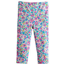 Buy Baby Joule Dee Dee Flower Leggings, Purple Online at johnlewis.com