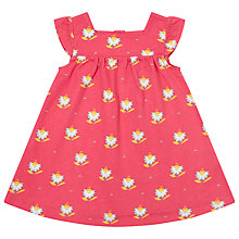 Buy John Lewis Floral Jersey Dress, Pink Online at johnlewis.com