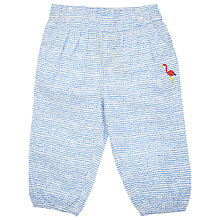 Buy John Lewis Stripe Print Trousers, Blue Online at johnlewis.com