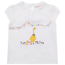 Buy John Lewis Goose T-Shirt, Cream Online at johnlewis.com