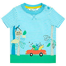 Buy John Lewis Bug Tours T-Shirt, Blue/White Online at johnlewis.com