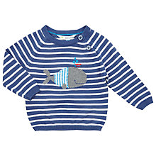 Buy John Lewis Whale Jumper, Navy/White Online at johnlewis.com