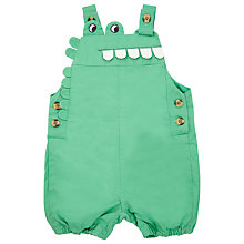 Buy John Lewis Crocodile Dungarees, Green Online at johnlewis.com