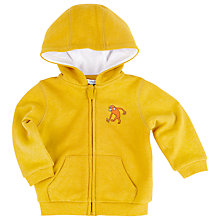 Buy John Lewis Monkey Hoody, Yellow Online at johnlewis.com