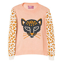 Buy Mango Kids Girls' Jacquard Sweater Online at johnlewis.com