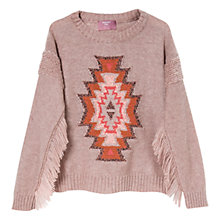 Buy Mango Kids Girls' Fringed Sweater Online at johnlewis.com