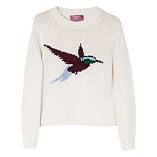 Buy Mango Kids Girls' Jacquard Knit Jumper Online at johnlewis.com