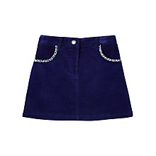 Buy Jigsaw Junior Girls' Moleskin Skirt Online at johnlewis.com