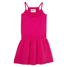 Buy Mango Kids Girls' Ruffled Rib Dress Online at johnlewis.com