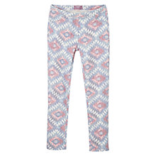 Buy Mango Kids Girls' Ikat Print Leggings Online at johnlewis.com