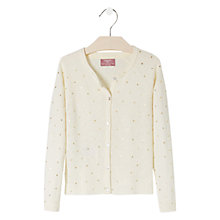Buy Mango Kids Girls' Star Print Cardigan Online at johnlewis.com
