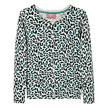 Buy Mango Kids Girls' Leopard Print Cardigan Online at johnlewis.com