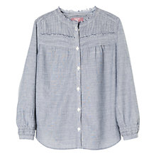 Buy Mango Kids Girls' Frayed Detail Blouse Online at johnlewis.com