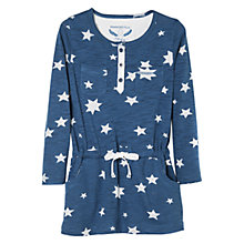 Buy Mango Kids Girls' Long Sleeve Star Print Dress Online at johnlewis.com