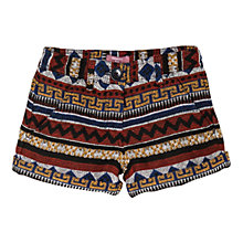 Buy Mango Kids Girls' Ethnic Pattern Shorts, Multi Online at johnlewis.com
