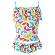 Buy John Lewis Girl Butterfly Print Tankini, Multi Online at johnlewis.com