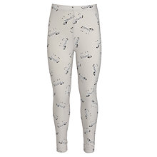 Buy Donna Wilson for John Lewis Zebra Print Leggings, Grey/Multi Online at johnlewis.com