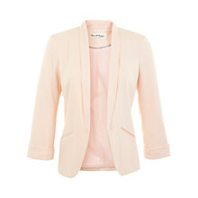 Buy Miss Selfridge Ponte Blazer, Nude Online at johnlewis.com