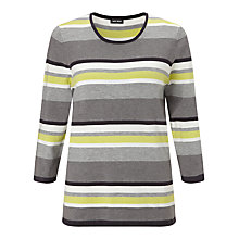 Buy Gerry Weber Stripe Scoop Neck Jumper, Multi Online at johnlewis.com