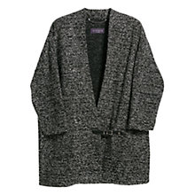 Buy Violeta by Mango Buckle Fantasy Jacket, Black Online at johnlewis.com