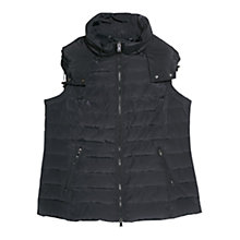 Buy Violeta by Mango Feather Down Gilet, Light Pastel Grey Online at johnlewis.com