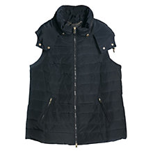 Buy Violeta by Mango Feather Down Gilet Online at johnlewis.com