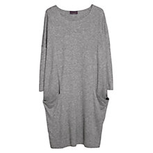Buy Violeta by Mango Tencel Wool-Blend Dress, Medium Grey Online at johnlewis.com