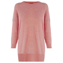 Buy Warehouse Split Side Soft Jumper Online at johnlewis.com