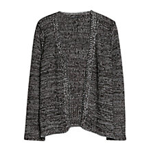 Buy Violeta by Mango Chain Detail Cardigan, Black Online at johnlewis.com