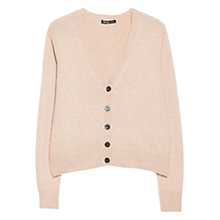 Buy Mango Alpaca Blend V-Neck Cardigan Online at johnlewis.com