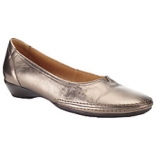 Buy Gabor Change Slip-On Leather Shoes Online at johnlewis.com