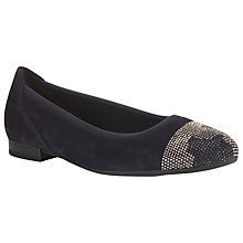 Buy Gabor Jude Suede Pumps, Navy Online at johnlewis.com
