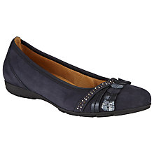 Buy Gabor Ashmill Slip-On Nubuck Shoes Online at johnlewis.com