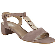 Buy Gabor Grenada Block Heeled Sandals Online at johnlewis.com
