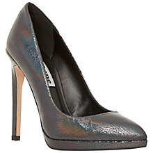 Buy Dune Arrabella Platform Leather Court Shoes Online at johnlewis.com