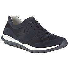 Buy Gabor Helen Nubuck Extra Wide Fit Trainers Online at johnlewis.com