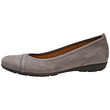 Buy Gabor Evangeline Nubuck Slip-On Shoes Online at johnlewis.com