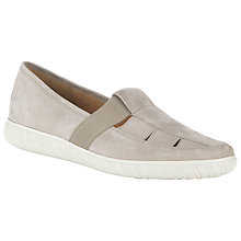 Buy Gabor Arisaig Wide Fit Nubuck Slip-On Shoes Online at johnlewis.com
